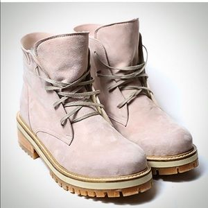 Combat Suede Boots